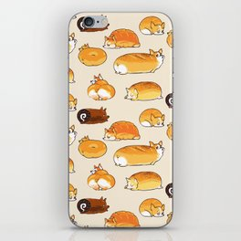 Bread Corgis iPhone Skin