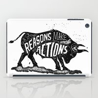 lettering iPad Cases featuring Lettering by Iriskana