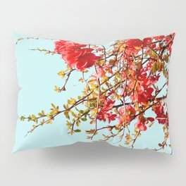 Japanese quince tree #2 Pillow Sham