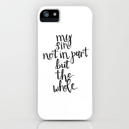 It Is Well iPhone Case