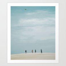 A Fine Day Art Print