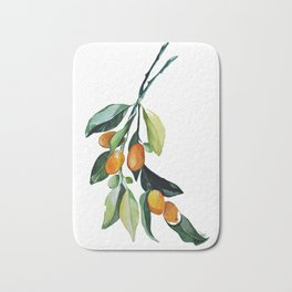 Kumquat may Bath Mat