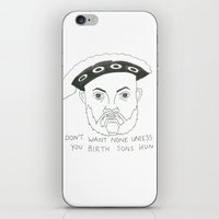 anaconda iPhone & iPod Skins featuring Anaconda by Megan