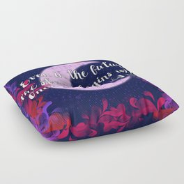 Once Upon a Time- The Lunar Chronicles Quote Floor Pillow