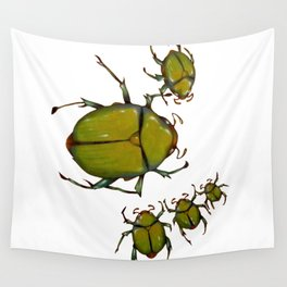 Beetles and bees Wall Tapestry