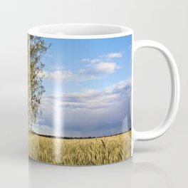 Corn Field with Birch Trees Coffee Mug