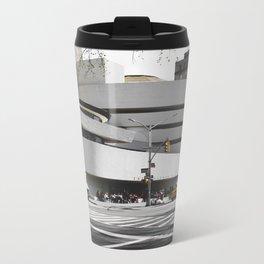 Guggenheim | Frank Gehry | architect Metal Travel Mug