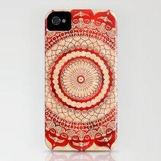 omulyána red gallery mandala iPhone (4, 4s) Slim Case