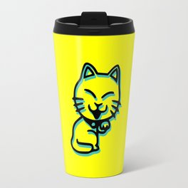 Cartoon Cat Travel Mug
