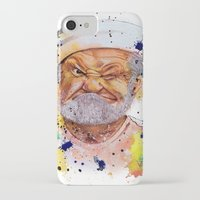 popeye iPhone & iPod Cases featuring The real popeye-Ron Everett by Liza's Brushes