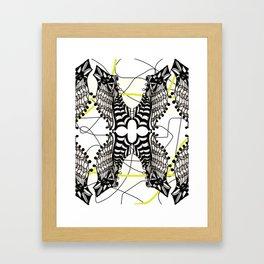 peguins Framed Art Print