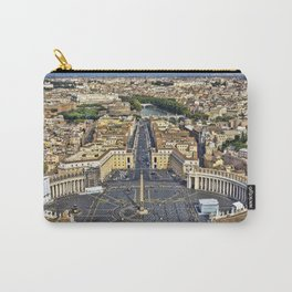 St Peter's Square in Rome, Italy Carry-All Pouch