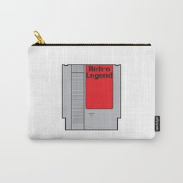 Retro Legend Gaming Quote Carry-All Pouch