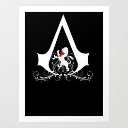 Talbot Family Assassin  Art Print