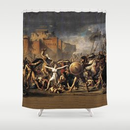 The Intercession of the Sabine Women Shower Curtain
