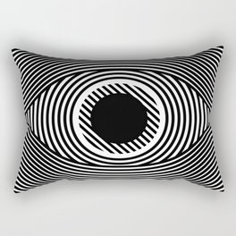 Moire Eye Rectangular Pillow