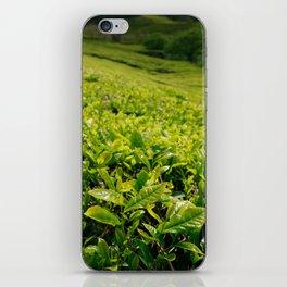 Gorreana tea gardens iPhone Skin