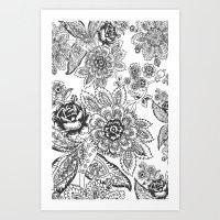 batik Art Prints featuring Batik by Tisha Haryanto