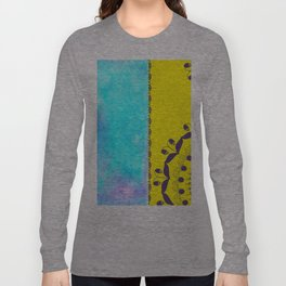 Flowers and watercolor  Long Sleeve T-shirt
