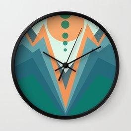 strange valley Wall Clock