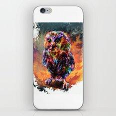 brave little owl iPhone Skin