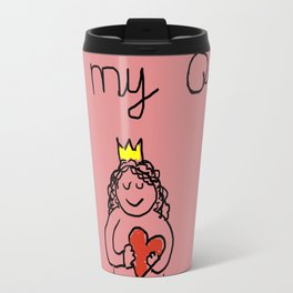 cute and lovely girl for valentine's day Travel Mug