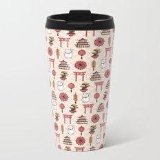 Japanese pattern Metal Travel Mug