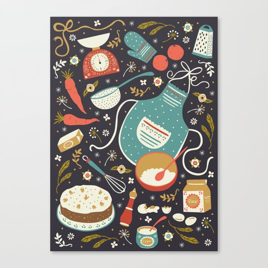 Carrot Cake Canvas Print