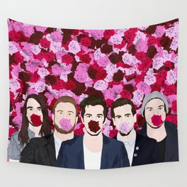 The Maine roses Wall Tapestry