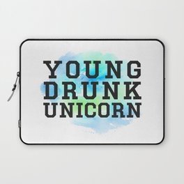 Young Drunk Unicorn - Design Laptop Sleeve
