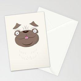 Koko Pug Stationery Cards