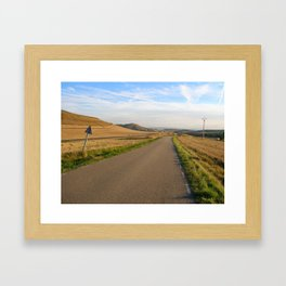 'Twixt Burgos and Logroño Framed Art Print