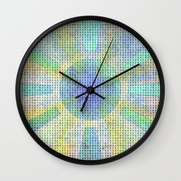 Surya Invocation (Sun) #2 - Magick Square Yantra Tantra Wall Clock