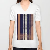 honeycomb V-neck T-shirts featuring HONEYCOMB by Mike Maike