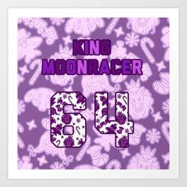 Moonracer Jersey Art Print
