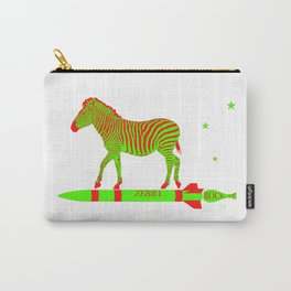 Zebra Rock It 11A Carry-All Pouch