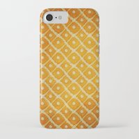 yellow pattern iPhone & iPod Cases featuring Yellow Pattern by Thomas Bryant