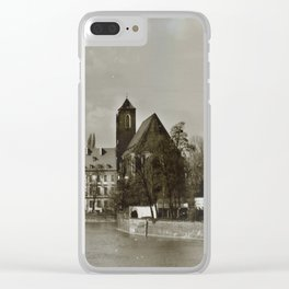 Wroclaw 1 Clear iPhone Case