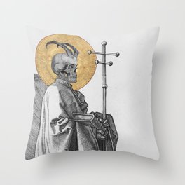 Our Most Reviled Father Throw Pillow