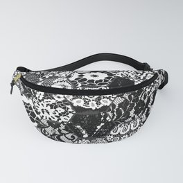 gothic lace Fanny Pack