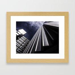 Urban Chrome Structure Framed Art Print
