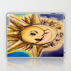 Lune et Soleil (Moon and Sun) Part 2 Laptop & iPad Skin