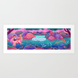What Is Intimacy? Art Print