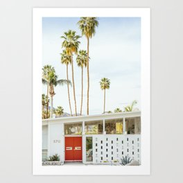 Palm Springs California Art Print