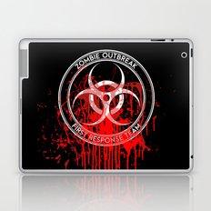 Zombie Outbreak First Response Team Laptop & iPad Skin