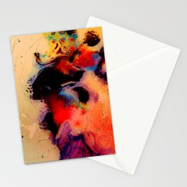 At the tempo of the carnival Stationery Cards