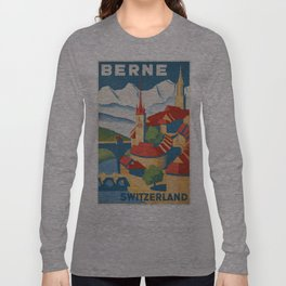 Vintage poster - Berne Long Sleeve T-shirt