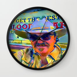 Finger-Pickin' Good Wall Clock