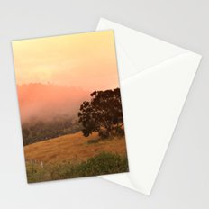 Early Fog In The Hills Stationery Cards