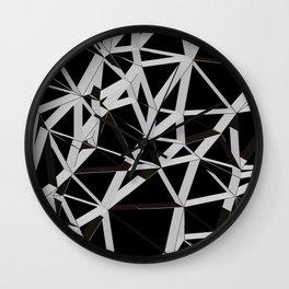3D Futuristic GEO Lines V Wall Clock
